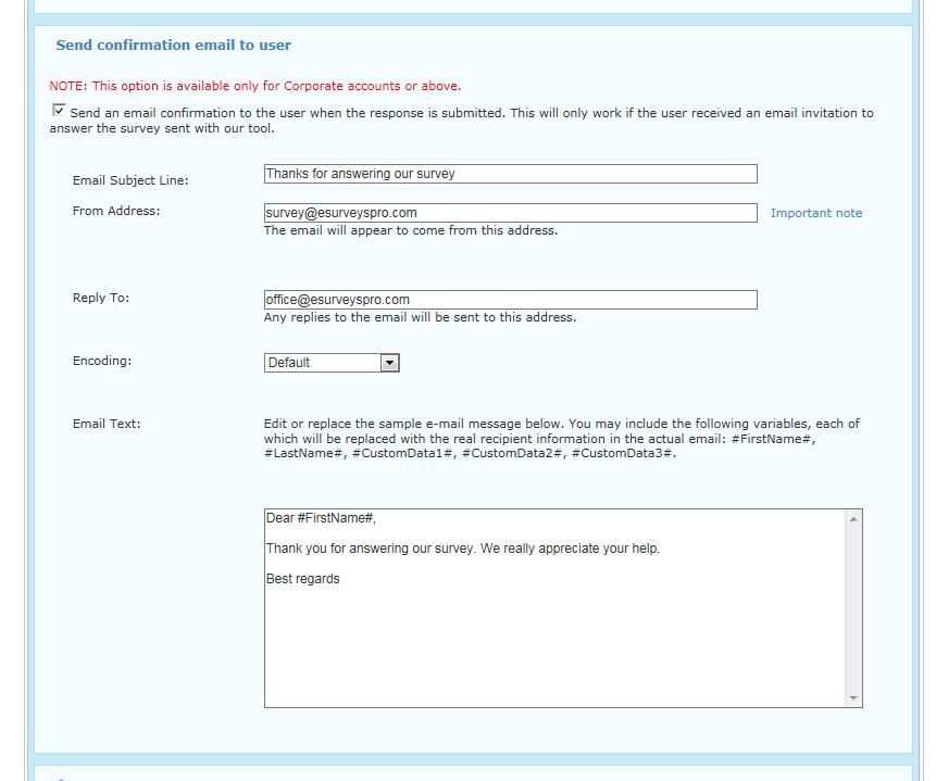Free survey software offered by eSurveysPro.com - Online survey tool | eSurveysPro.com is an ...